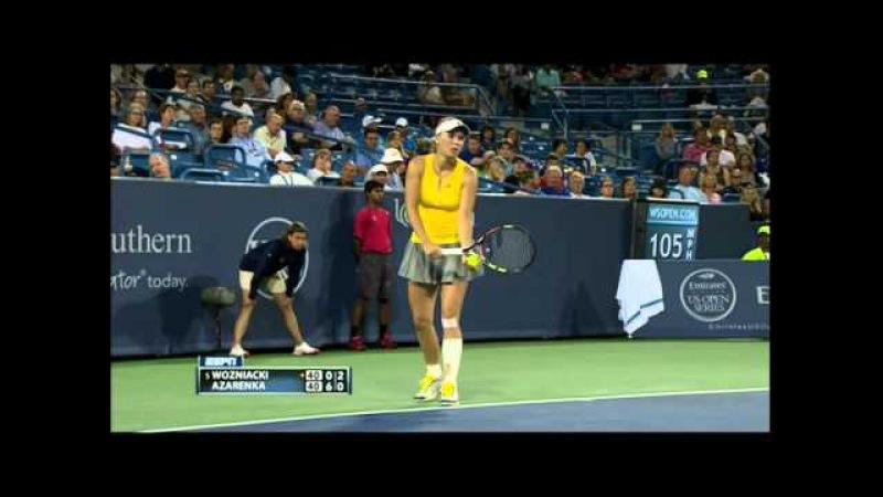 Caroline Wozniacki vs Victoria Azarenka CINCINNATI 2015 R2 » Freewka.com - Смотреть онлайн в хорощем качестве