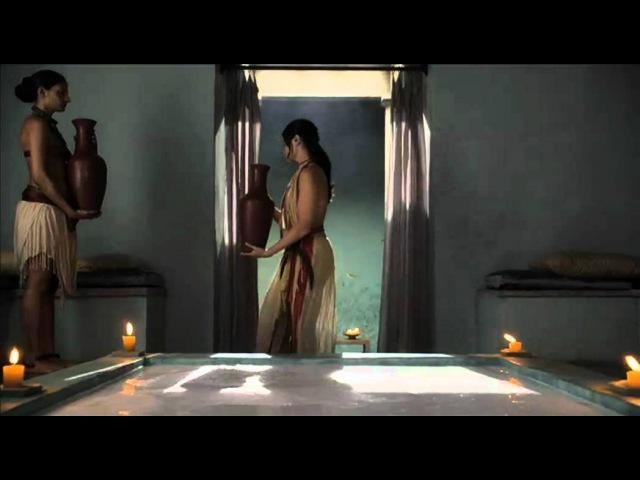 Spartacus Ep9 2 - scena Bagno Lucrezia