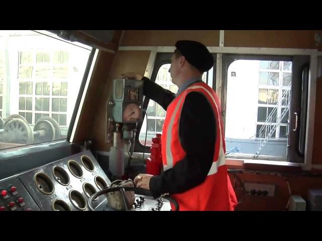 Работа локомотивной бригады