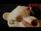Needle Felting a Teddy Bear Skull: Unnatural History in the Making