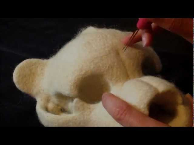 Needle Felting a Teddy Bear Skull: Unnatural History in the Making