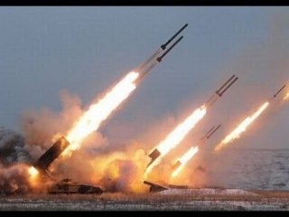 Реактивные системы залпового огня  Град, Смерч, Ураган/Multiple rocket launchers