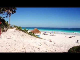 Paraiso Beach. пляжи Тулум, Мексика. Tulum, Mexico.