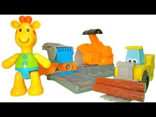 Пластилин Плей До. Учим буквы. Буква Л. Развивающее видео для детей.