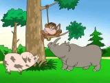 Обучающие Развивающие мультфильмы для самых маленьких! Часть 4 Азбука для малышей
