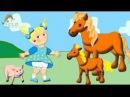 Развивающие мультики для детей Как говорят животные