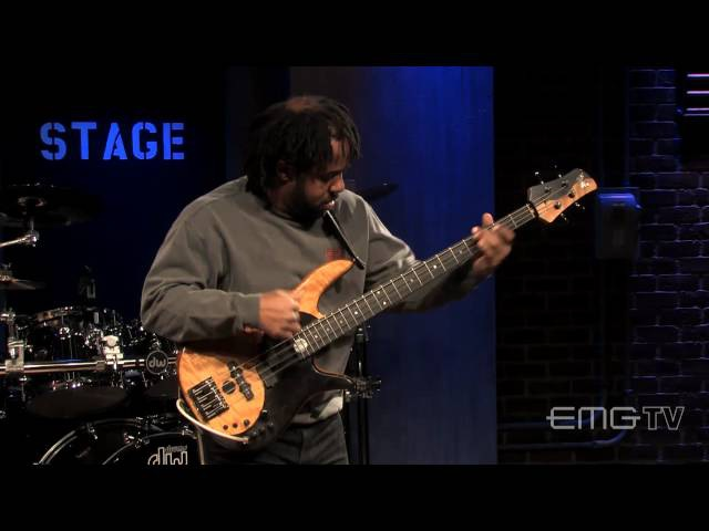 Victor Wooten wows with his performance of The Lesson solo live on EMGtv