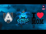 The Alliance vs MB #1 (bo3) (Ru) | Captains Draft 3.0 (15.02.2016) Dota 2