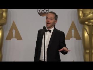 Эммануэль Любецки (пресс-центр) Оскар 2016