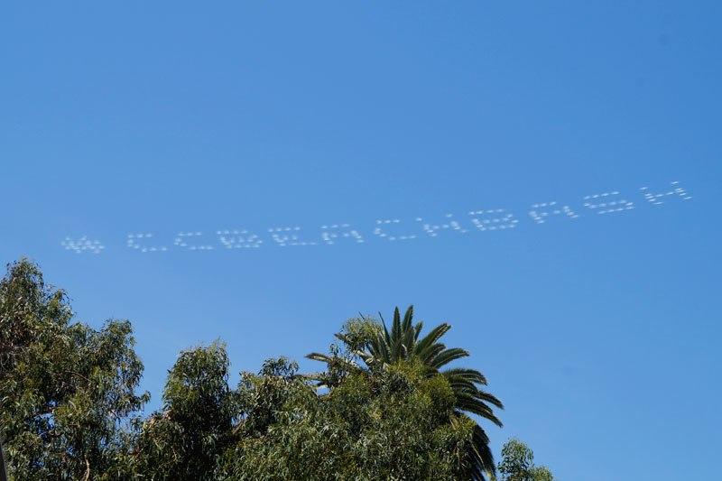 Реклама в небе