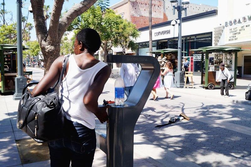 Питьевая вода на улице