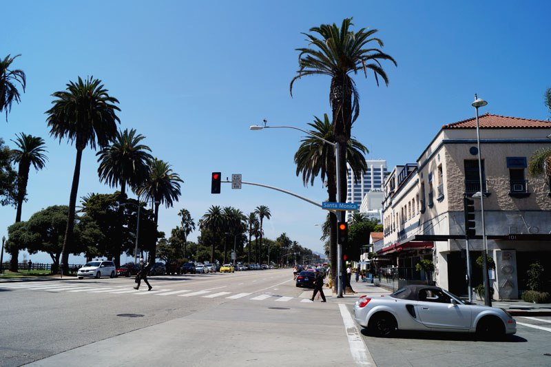 Улица в Санта-Моника