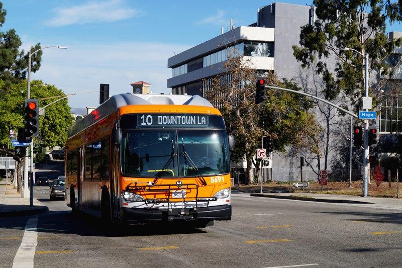 Общественный транспорт в Лос-Анджелесе