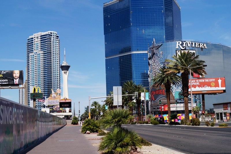 Улица Strip в Las Vegas