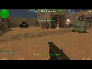 CS 1.6- играем на зомби сервере Zombie Plague +CSO [Ammo]