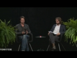 Between Two Ferns with Zach Galifianakis: Brad Pitt (субтитры)