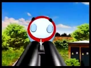 Мультфильм про поезд Сапсан