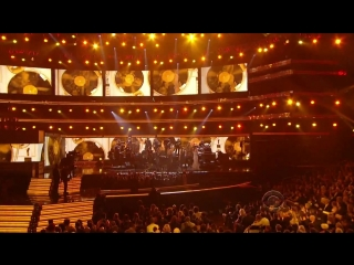 Christina aguilera, martina mcbride, florence welch, jennifer hudson, yolanda adams - tribute to aretha franklin ( live on gramm