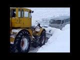 Трактор К-700 сельский проходимец!/Tractor K-700 rural crook