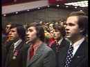 The internationale in Soviet Union National Congress 1978 Интернационал