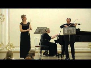 Ибер   Два интермеццо для флейты, скрипки и фортепиано