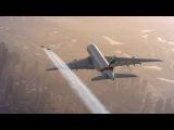 В Дубае парни на реактивных ранцах погонялись с Airbus A380