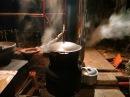 Варочная ракетная печь =КUZMINKA= с дымоходом часть 2 ROCKET STOVE
