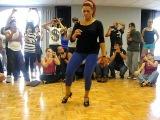 Jorjet dances Pachanga