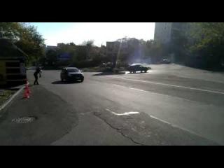Дрифт на улицах Владивостока