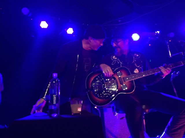 Les Claypools Duo De Twang Stayin Alive featuring Chad Smith @ The Belly Up Aspen, Co 2.19.15