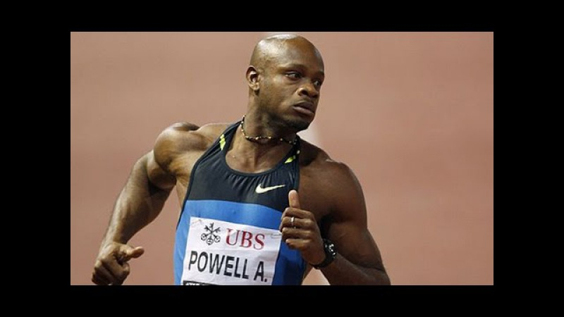 Asafa Powell - Spint Team