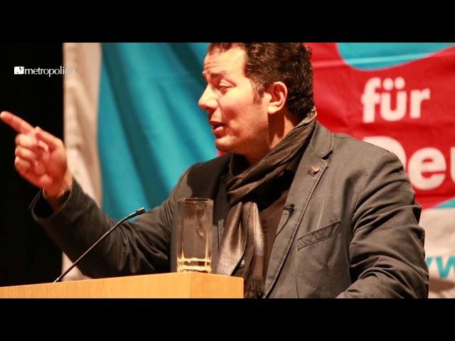 Hamed-Abel Samad stellt sich der Diskussion