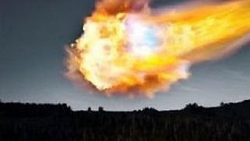 Взрыв в Челябинске Падение метеорита