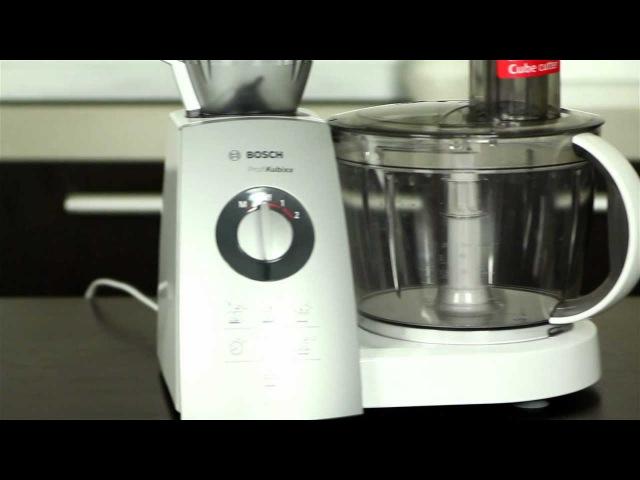 Обзор кухонного комбайна Bosch MCM 5529