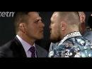 UFC 197 Face offs Rafael dos Anjos vs Conor McGregor and Holly Holm vs Miesha Tate
