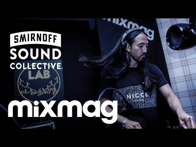 STEVE AOKI house set in The Lab @ the SmirnoffHouse