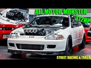 HT Pops KILLER 312HP ITB K24 Civic racing GTR's More