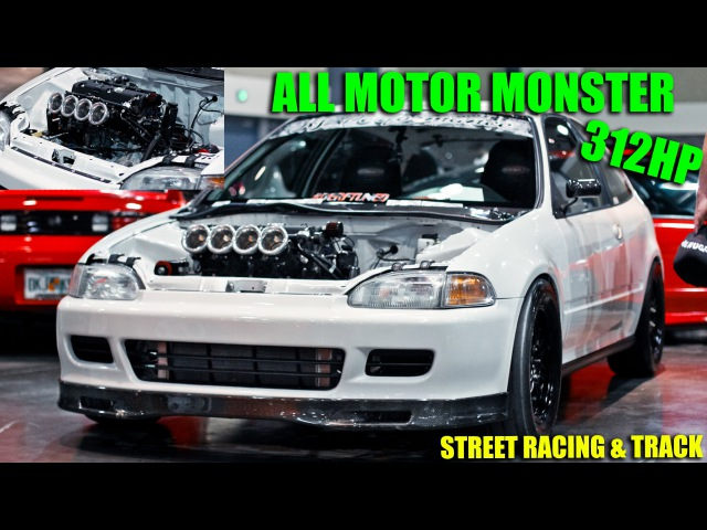 HT Pops KILLER 312HP ITB K24 Civic racing GTR's More