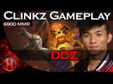 ddz 6900MMR Clinkz Rampage Gameplay Dota 2
