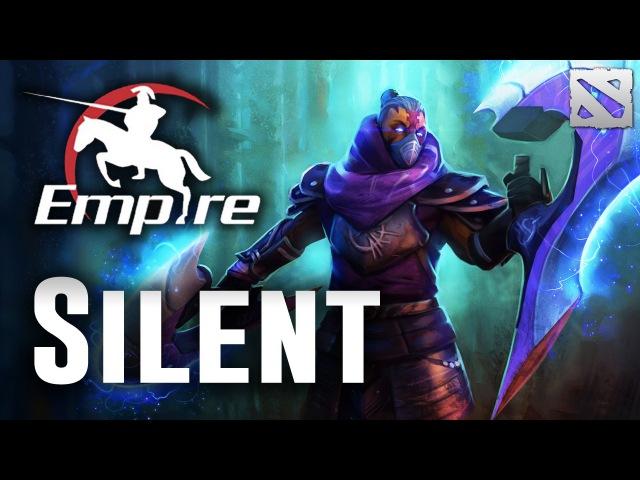 Silent Anti Mage Empire The International Dota 2