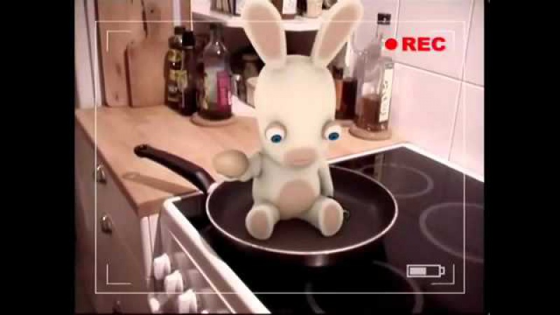 Raving Rabbids 70% Complete Collection but they can dance !
