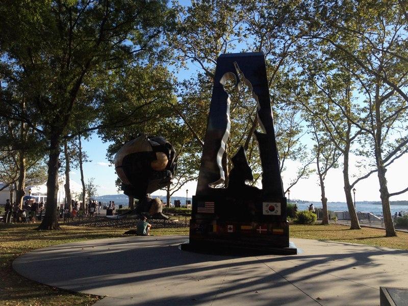 Памятник героям Корейской войны