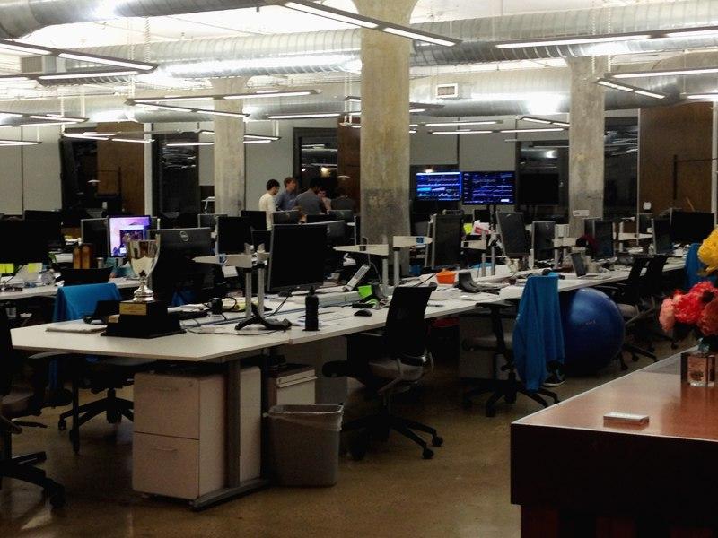 IT-офис в Нью-Йорке