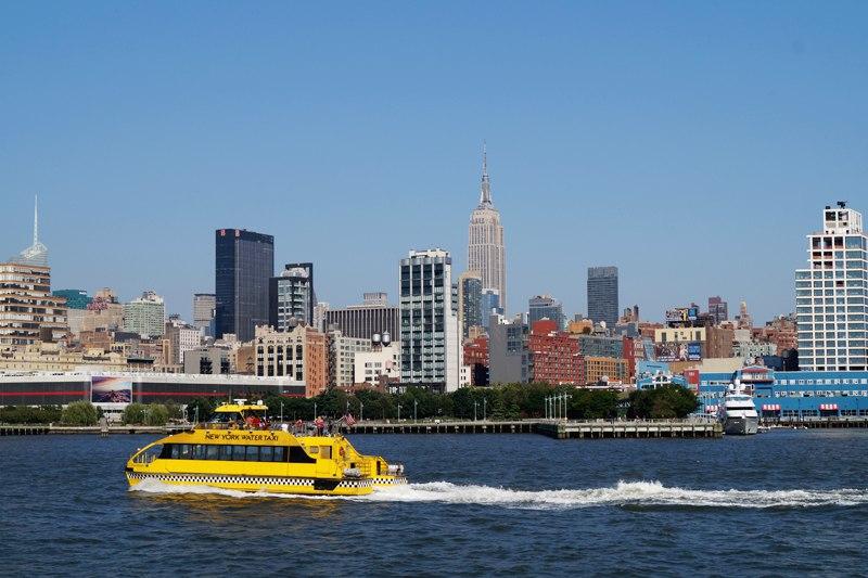 Водное такси Нью-Йорка