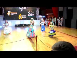 Детская группа ансамбля восточного танца