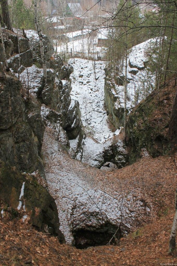 Старинная медная шахта