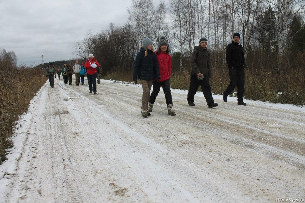 Дорога к Чусовскому озеру