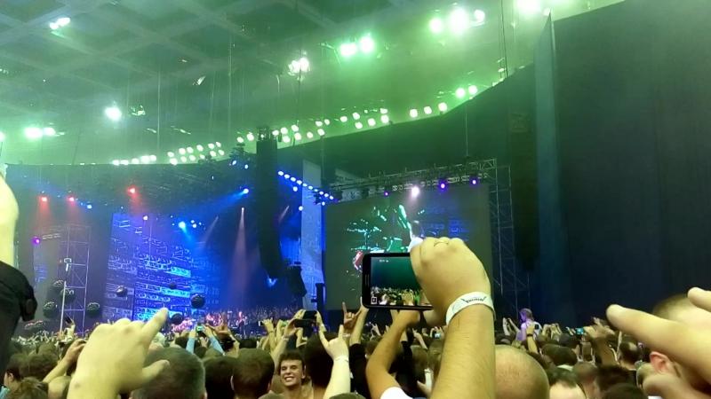 Concert in Moscow Metallica 27.08.2015