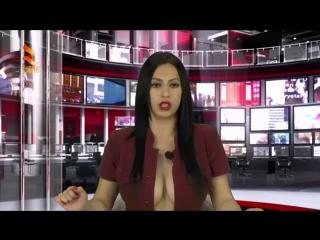Албанская студентка, по имени Энка Брацаж, получила работу ведущей на телеканале.