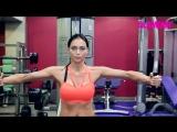 Упражнения для мышц груди- видео от Настасьи Самбурской